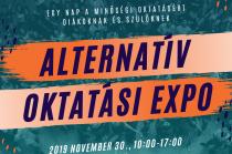 Alternatív Oktatási Expó plakát