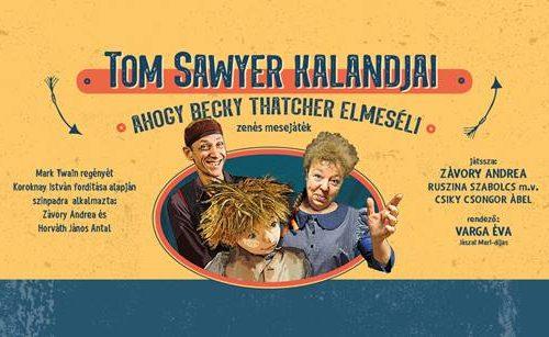 Tom Sawyer kalandjai mesejáték plakátja