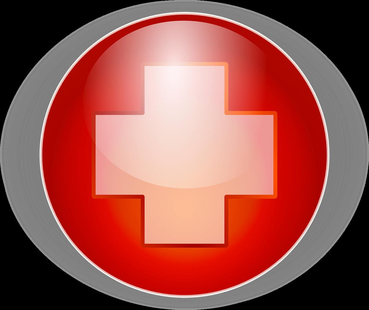 vöröskereszt ikon