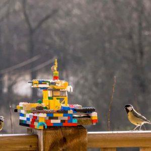 Építsetek LEGO madáretetőt!