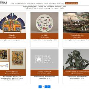 Virtuális Mozaik Múzeumtúra - Elindult a múzeumok online elérhető tartalmainak keresőoldala