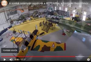 DEMÓ - Reptár - Szolnoki Repülőmúzeum virtuális séta