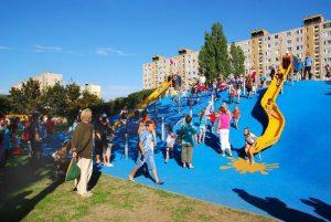 játszótér - Kispest Központi játszótér XIX. kerület