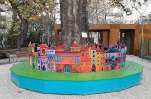 játszótér - Benczúr kert