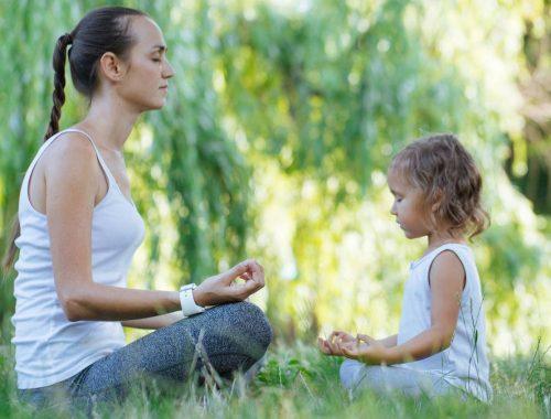 szülő - gyerek meditáció