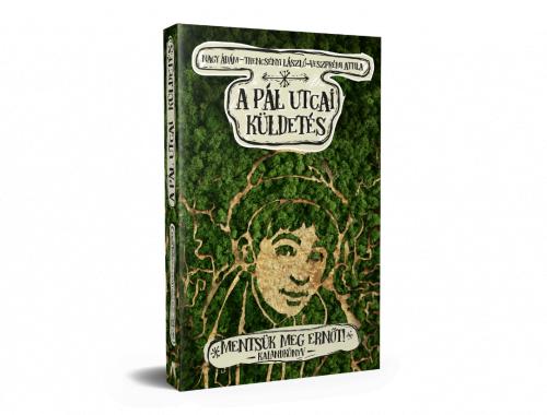 A Pál utcai küldetés könyvborító