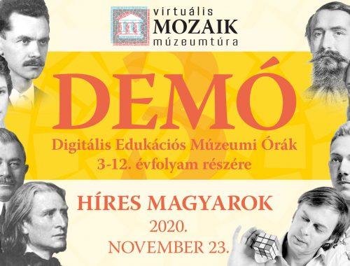 Digitális Edukációs Múzeumi Órák 3.