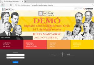 virtualismozaikmuzeumtura.hu weboldal